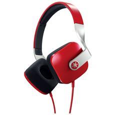 HPH-M82 Cuffie con Microfono Colore Rosso