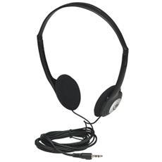 Cuffie stereo Jack 2.5 mm colore nero