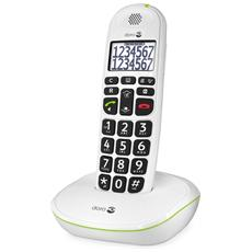 Phoneeasy 110 Cordless White Big Button