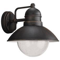 Lanterna Da Parete Ruggine 1 X 60w 230v