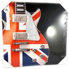 canvas 'so british' chitarra (40x40 cm) - [ m5306]