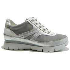 THE FLEXX - Move Tee Scarpe Donna Sneakers Stringate Grigio - 40 Grigio 7a754ad4581