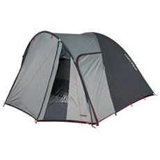 Tenda da Campeggio per 4 Persone Grigia