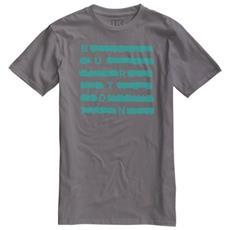 T-shirt Uomo Crossed L Grigio Verde