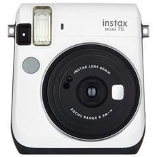 Instax Mini 70 Moon Bianco Fotocamera a Sviluppo Istantaneo