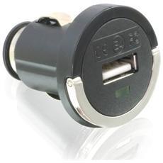 DC Car Adapter 1 x USB, 12-24V, 5V, 0,5A, 1 x USB-A