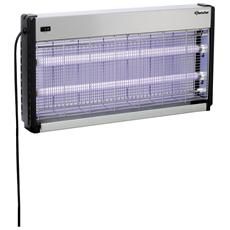 300317 Lampada elettro insetticida 64,5x36,5 con due lampade da 20W