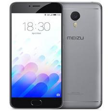 "M3 Note Grigio 32 GB 4G / LTE Dual Sim Display 5.5"" HD Slot Micro SD Fotocamera 13 Mpx Android Italia"