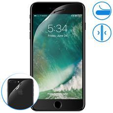 Protezione Integrale Fronte + Retro In Vetro Flessibile Iphone 7 Plus E 8 Plus