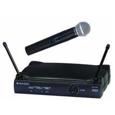 VHF-250, 50 - 20000 Hz, Senza fili, 6h, 9V, 65 mA, Nero