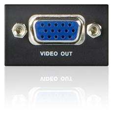 Amplificatore Segnale VGA Nera 0.9 W 5 V 70 m VB100
