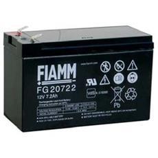 Batteria Ermetica Al Piombo Fiamm 12v 7,2 Ah Modello Fg20722