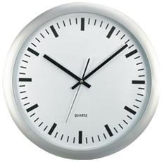 orologio da parete big ø 46cm fondo bianco methodo