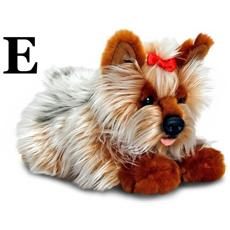 Linea Laying Dogs Peluche Cagnolini