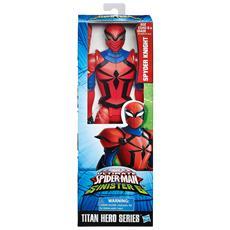 Spyder Knight - Action Figure Marvel - Ultimate Spiderman Vs Sinister 6 - Titan Hero Series