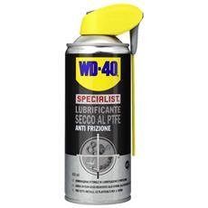 Wd40 Specialist Lubrificante Secco Al Ptfe Anti Frizione 400 Ml Svitol Professionale 6pz