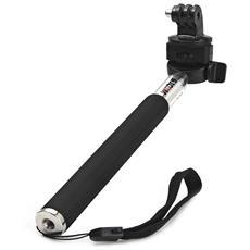 Monopiede Per Fotocamera Pieghevole Selfie Originale Sjcam Con Adattatore Per Videocamera Gopro Hero 4/3+ / 3/2/1 / Sj4000 / Sj5000 / Sj6000