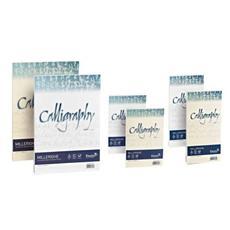 A69Q324 Calligraphy Millerighe Cartotecnica Favini A4 200 g / mq Confezione da 50 Fogli
