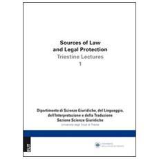 Source of law and legal protection. Ediz. italiana e inglese. Vol. 1