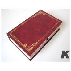 Cassetta Portavalori Libro Rosso