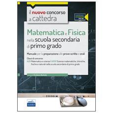 CC4/29 Matematica e Fisica nella scuola secondaria di I grado. Per la classe A28 (A059) . Con espansione online