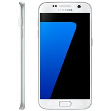 "SAMSUNG - Galaxy S7 Bianco Display 5.1"" Quad HD Octa Core..."