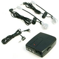 Interfono per 2 caschi casco coppia con microfono e auricolare universale per scooter mp3
