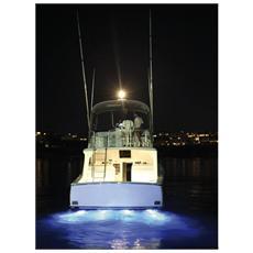 Faro subacqueo 12 LED bianchi