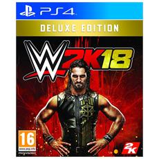 PS4 - WWE 2K18 Deluxe Edition