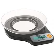 Bilancia Elettronica da Cucina Portata 5kg Colore Nero