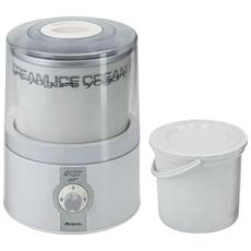 Ice cream & Yogurt maker capacità 1,2 Kg