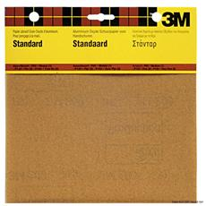 Carta abrasiva nera 3M P 240 (4 pz)