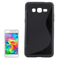 Cover S-Line Nero per Samsung Grand Prime G530