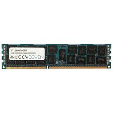 Memoria DIMM 16 GB DDR3 1600 MHz CL11 Colore Verde