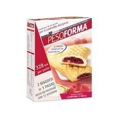 Pesoforma Biscotti Farciti Lamponi E Mela 540g