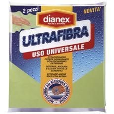 Panni Ultrafibra X 2 Pezzi Attrezzi Pulizie