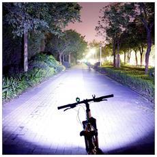 Cree Xml T6 4 Led 4000 Lumens Faro Per Bicicletta