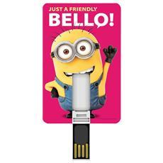 Minions Bello! 8GB USB 2.0 Tipo-A Multicolore unità flash USB
