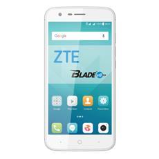 "Blade V8 Lite Argento 16 GB 4G / LTE Dual Sim Display 5"" HD Slot Micro SD Fotocamera 13 Mpx Android Europa"