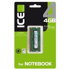 per NOTEBOOK SO-DDR3 1600/1333 MHz da 4 GB (Retail)