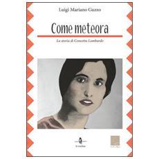 Come meteora. La storia di Concetta Lombardo