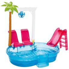 Barbie Glam Pool Multicolore