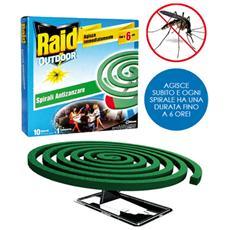 Raid 10 spirali Confezione 6 Pz