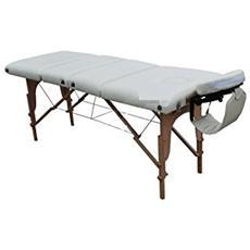 Lettino zona 4 per massaggi portatile fisioterapia pieghevole + borsa