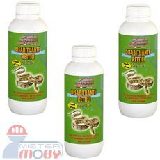 Repellente disabituante allontana anti gechi rettili naturale granulare 3x 1 lt