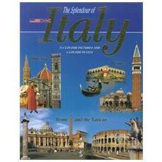 Splendore d'Italia. Ediz. inglese