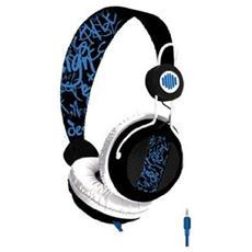 Cuffie Nox Headset 3.5 mm - Nero / Blu