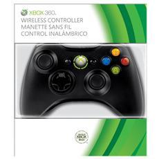 X360 - Controller Wireless - Colore Nero