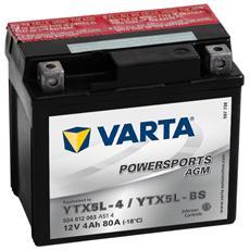 Batteria Moto Powersports AGM YTX5L-4 / YTX5L-BS