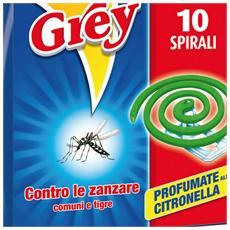 Grey spirali antizanzare Confezione 3 Pz